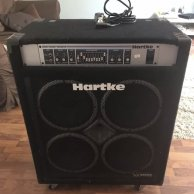 Hartke Vx3500 Bass Combo Amp Amplifier Compression Driver