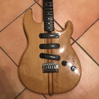 Yamaha SC 1200 Gitarre - Vintage Guitar 70s - Through Neck