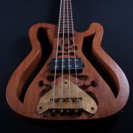 Sculpture HMG, handmade 4 string bass