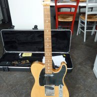 Fender Telecaster American standard RW natural wood 2010