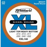 D'addario Light Top Heavy bottom EXL140 10-52