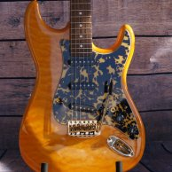 GJ #37 Amber Quilt Strat (The Cat)
