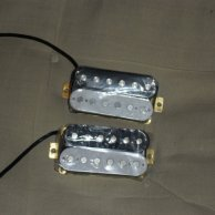 Allt Dubh Humbucker set H1515 Black & White