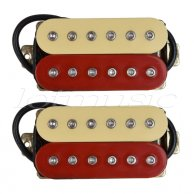 Allt Dubh Humbucker set H1640 Red and Cream
