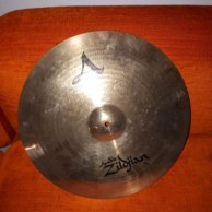 "Vends cymbale Zildjian 17"" A-Custom Fast Crash"