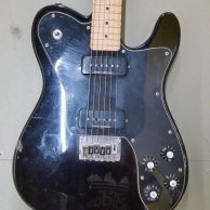 Fender Squire telecastor custom electric guitar