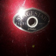 "Batterie Tama Stagestar Rouge + Ride 20"" Sabian B8"