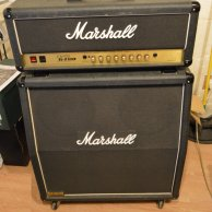 Marshall JCM 900 2100 SL-X Modern High Gain. + 4X12 1960 Celestion Vintage 30 100 Wats Amplifier and cabinet
