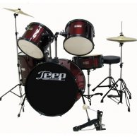 Bateria acustica Deep GC1003WR Wine red
