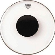 "Remo CS-131810 18"" Control Sound Clear Bass Drum Head with Black Dot Naciąg Perkusyjny"
