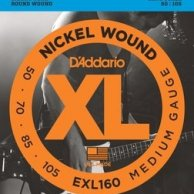 EXL 160 DADDARIO 50-105 set bass xl long scale - str. gir. bas.