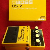 Pédale de distortion ET overdrive BOSS OS-2