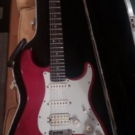 Fender Stratocaster American deluxe HSS (Fat Strat)