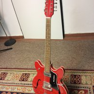Late 60s Baldwin 712 12-string semi-acoustic