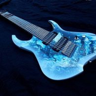 8-string Custom Multiscale Guitar