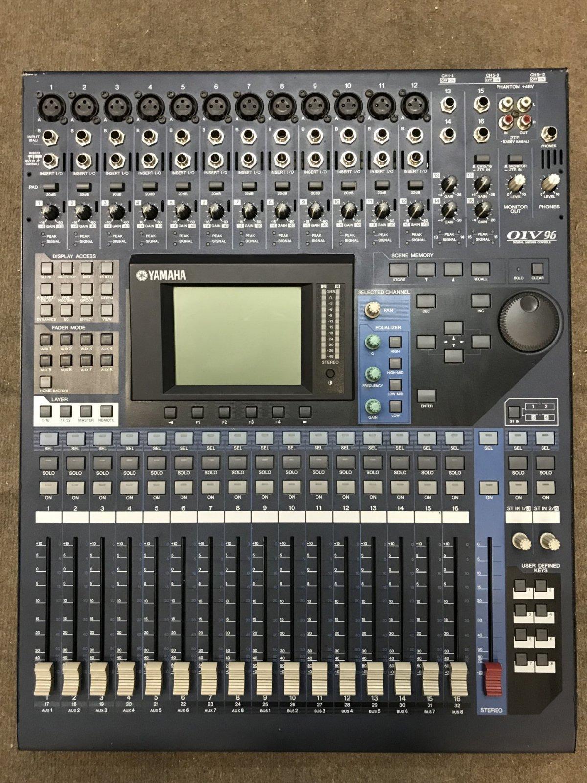 Yamaha 01V96 VCM - Bbop eu
