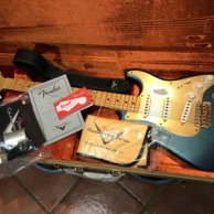 Fender Custom Shop 1956 Relic Stratocaster Aced Lake Placid Blue