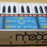 Sintetizador Moog Source en perfecto estado