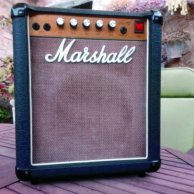 MARSHALL LEAD 12 5005 MkII - Basket weave - 1985.