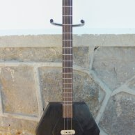 "Cigar Box Guitar ""coffin"" 3"
