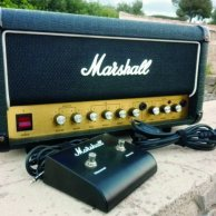 MARSHALL 3310 MOSFET SPLIT CHANNEL REVERB - 100w. - 1990.