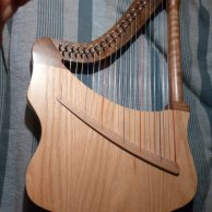 Thomann Lute Harp 22 string
