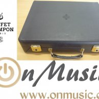 Funda de Clarinete Doble Sib-La Buffet en perfecto estado.
