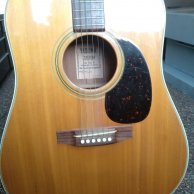 Guitarra Yasuma Newance 130 (Martin Lawsuit)