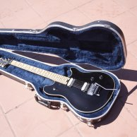 PEAVEY Wolfgang Standard USA, Black Top, 1st year (Pat.Pend), Electric Guitar