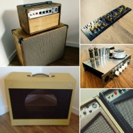 All Tube Custom Guitar Amplifier, Head Shells, Combos and Speaker Cabinets