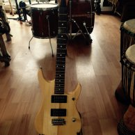 Guitare electrique washburn, Natural Nuno Bettencourt Exclusive