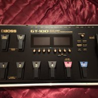 BOSS GT-100 Mulit Effects Pedal
