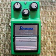 Keeley Modified Ibanez TS9 Tubescreamer with True Bypass